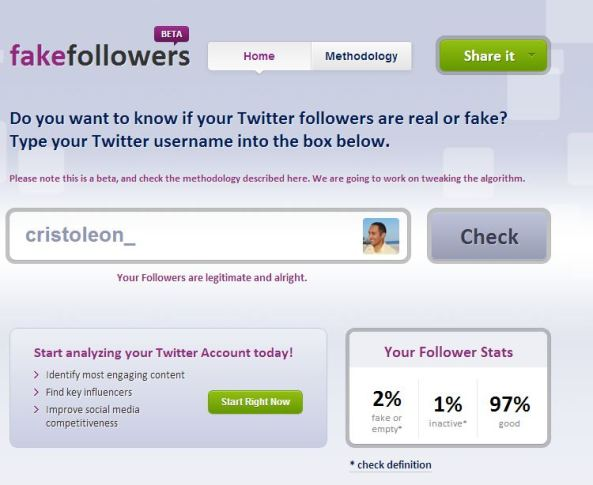 facke followers
