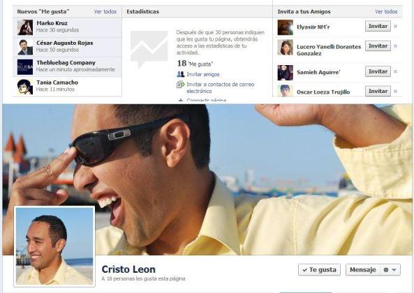 Cristo Leon facebook page